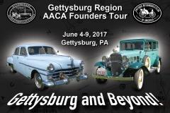 Founders Tour 2017 plaque